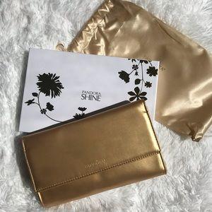 Pandora limited edition gold clutch
